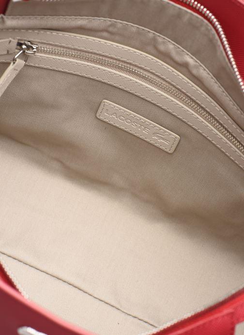 Handtaschen Lacoste Daily Classic Shopping Bag weinrot ansicht von hinten