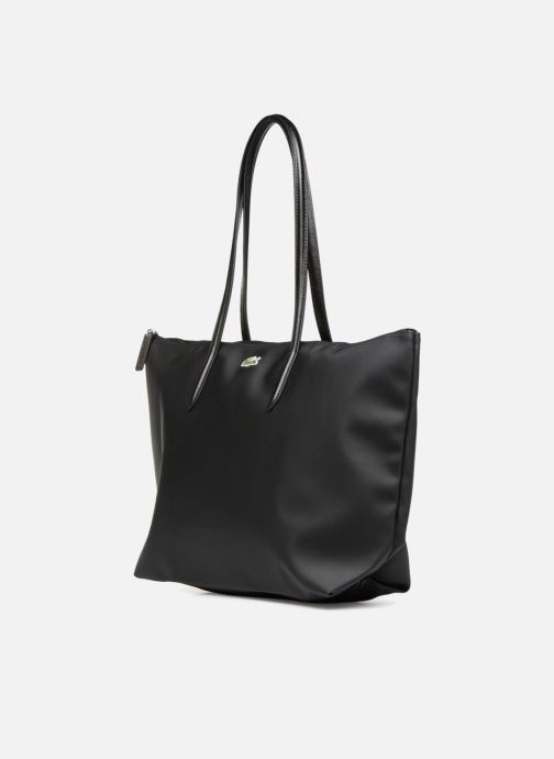 Handtassen Lacoste L.12.12 Concept L Shopping Bag Zwart model