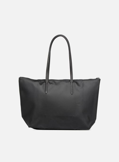 Sacs à main Lacoste L.12.12 Concept L Shopping Bag Noir vue face