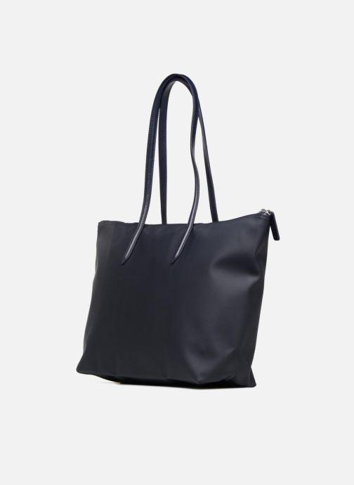 Sacs à main Lacoste L.12.12 Concept L Shopping Bag Bleu vue droite
