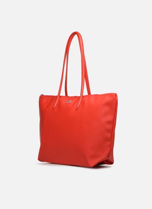 Bolsos de mano Lacoste L1212 CONCEPT Rojo vista del modelo
