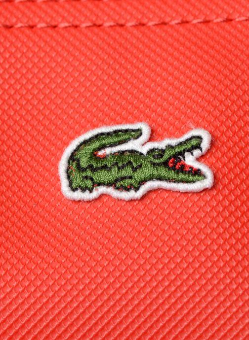 Bolsos de mano Lacoste L1212 CONCEPT Rojo vista lateral izquierda