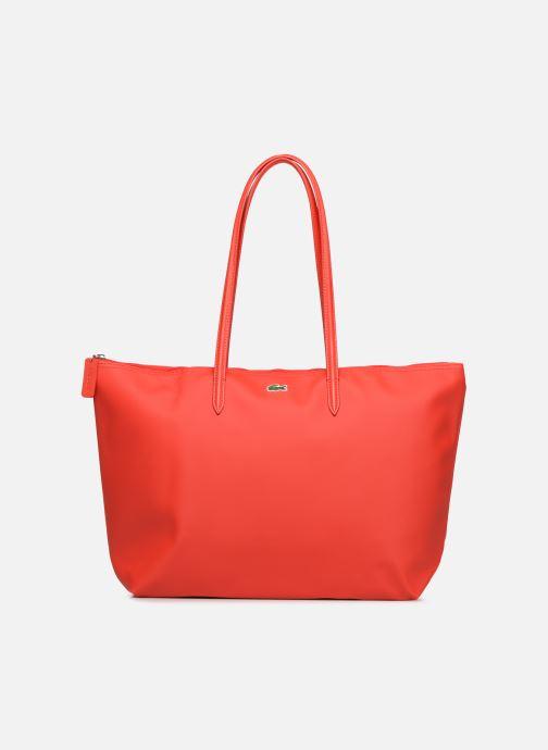 Handtassen Lacoste L.12.12 Concept L Shopping Bag Rood detail