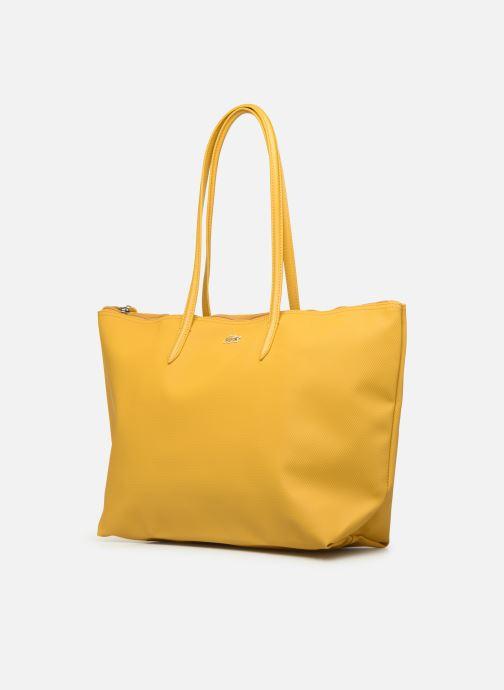 Handtaschen Lacoste L1212 CONCEPT gelb schuhe getragen