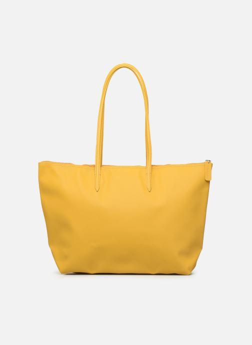 Handtaschen Lacoste L1212 CONCEPT gelb ansicht von vorne
