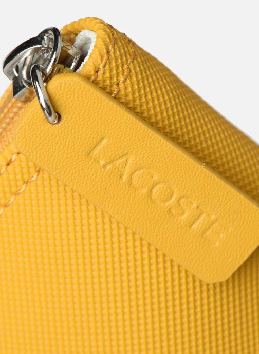 Handtaschen Lacoste L1212 CONCEPT gelb ansicht von links