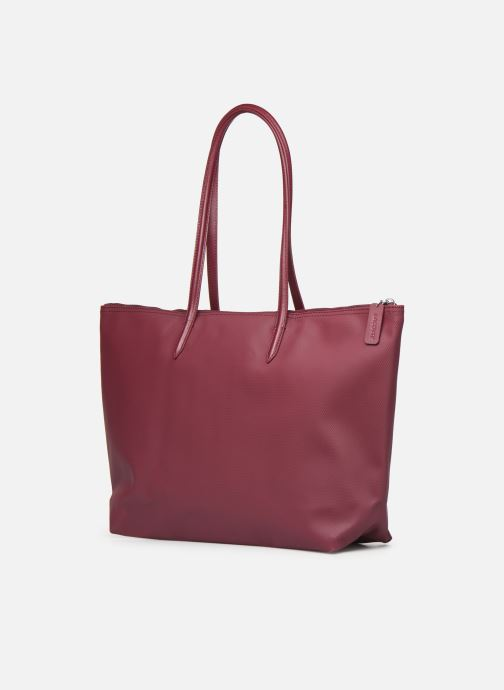 Handbags Lacoste L1212 CONCEPT Burgundy view from the right
