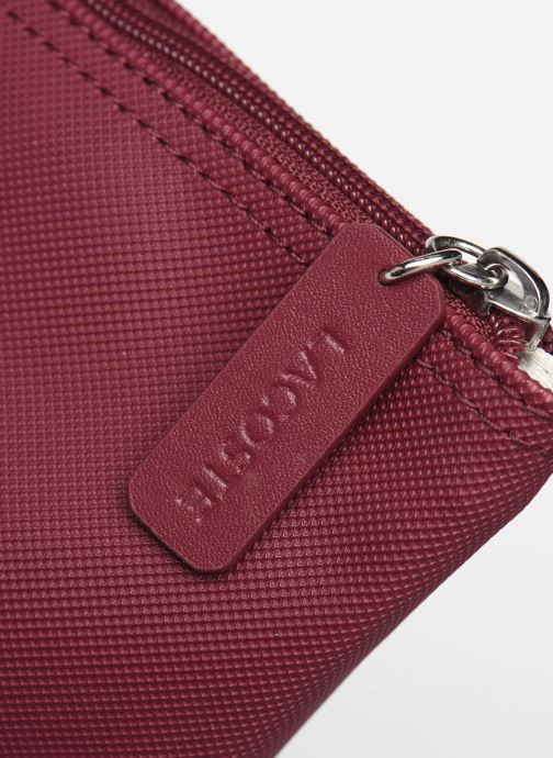 Handbags Lacoste L1212 CONCEPT Burgundy view from the left