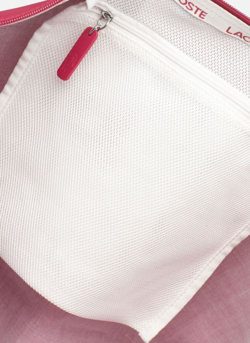 Handtaschen Lacoste L.12.12 Concept L Shopping Bag rot ansicht von hinten