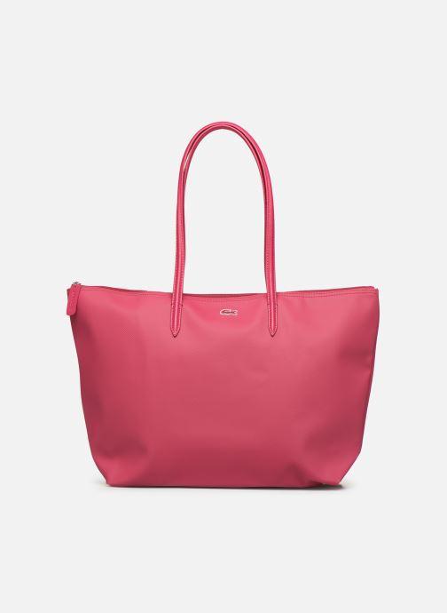 Handtaschen Lacoste L.12.12 Concept L Shopping Bag rot detaillierte ansicht/modell