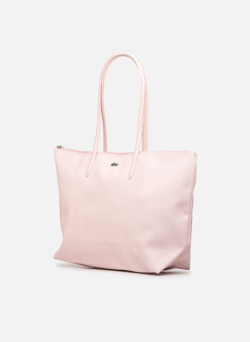 Handtassen Lacoste L.12.12 Concept L Shopping Bag Roze model