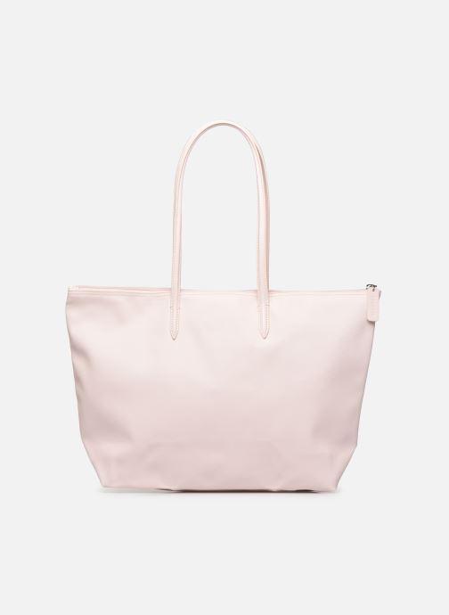 Handtassen Lacoste L.12.12 Concept L Shopping Bag Roze voorkant