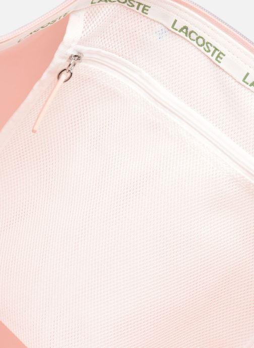 Handtassen Lacoste L.12.12 Concept L Shopping Bag Roze achterkant