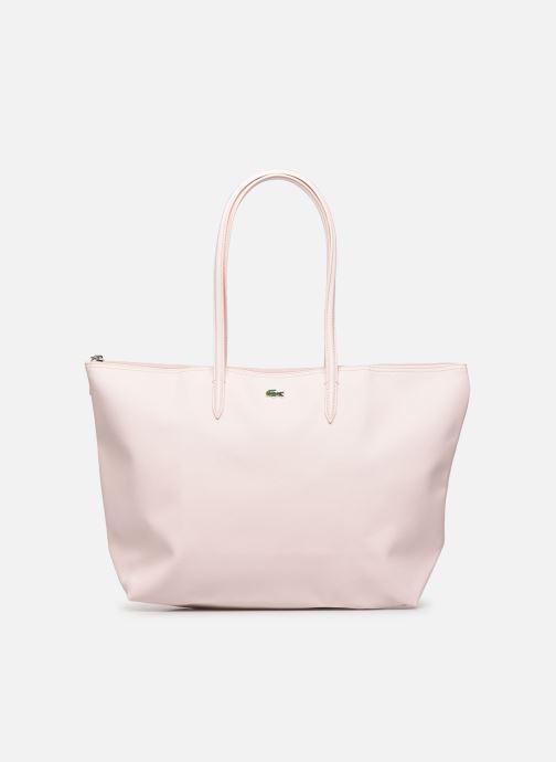 Handtassen Lacoste L.12.12 Concept L Shopping Bag Roze detail