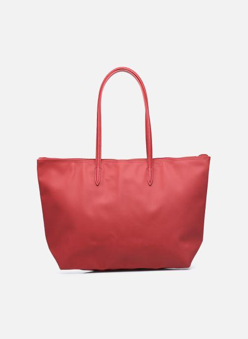 Handtaschen Lacoste L.12.12 Concept L Shopping Bag weinrot ansicht von vorne