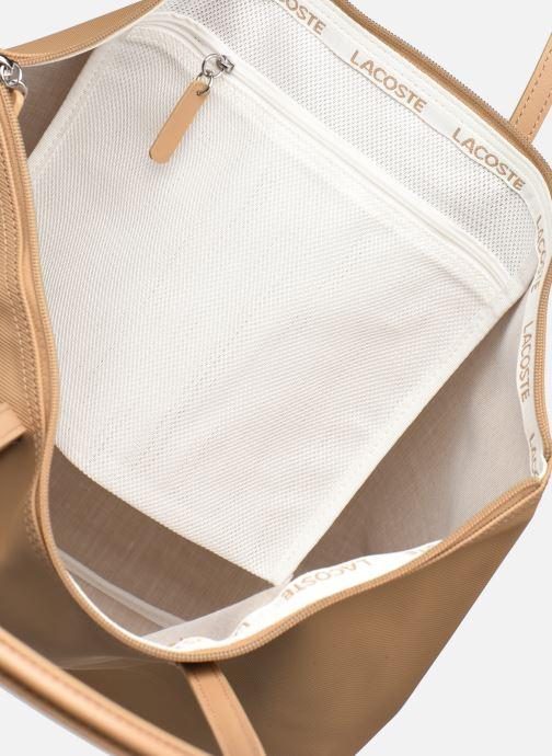 Bolsos de mano Lacoste L.12.12 Concept L Shopping Bag Marrón vistra trasera