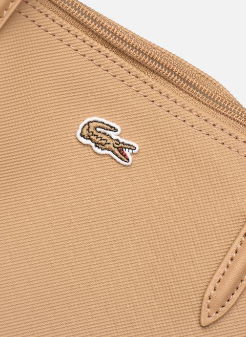 Bolsos de mano Lacoste L.12.12 Concept L Shopping Bag Marrón vista lateral izquierda