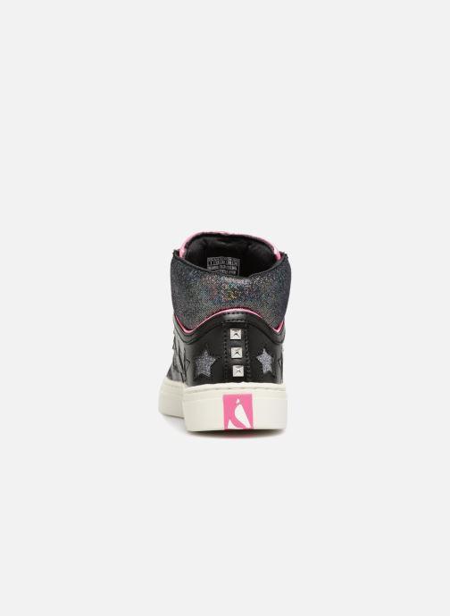 Sneakers Skechers Sidestreet Funk It Out Svart Bild från höger sidan
