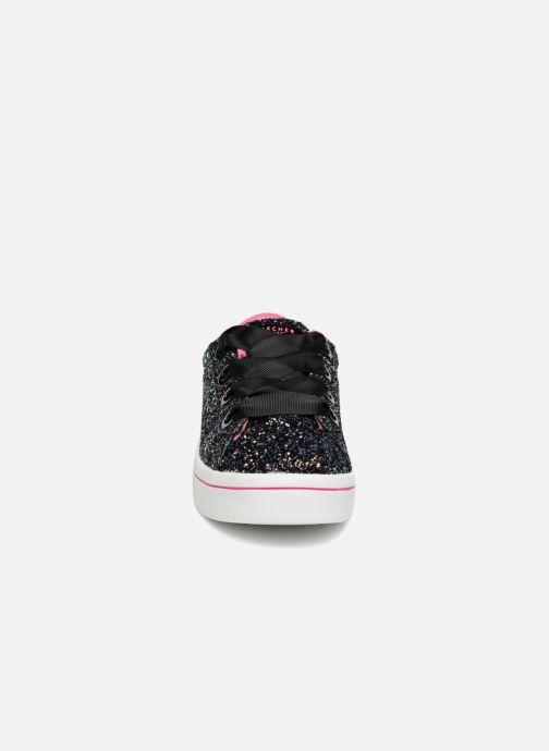 Baskets Skechers Hi-Lite Glitz-Nglam Noir vue portées chaussures