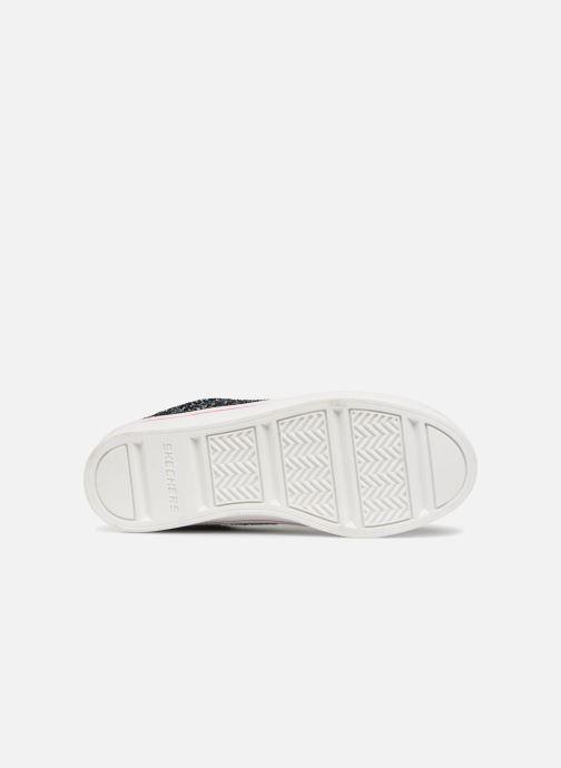Baskets Skechers Hi-Lite Glitz-Nglam Noir vue haut