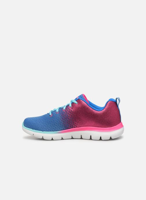 Sport shoes Skechers Skech Appeal 2.0 Get Em Glitter Blue front view