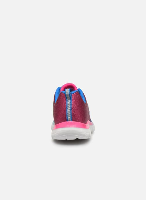 Sport shoes Skechers Skech Appeal 2.0 Get Em Glitter Blue view from the right