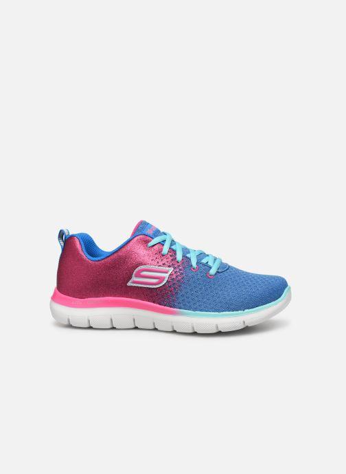 Sportschoenen Skechers Skech Appeal 2.0 Get Em Glitter Blauw achterkant