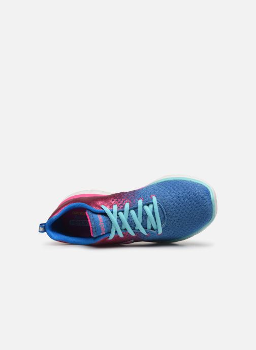 Sport shoes Skechers Skech Appeal 2.0 Get Em Glitter Blue view from the left
