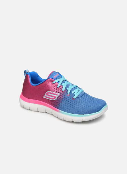 Sport shoes Skechers Skech Appeal 2.0 Get Em Glitter Blue detailed view/ Pair view
