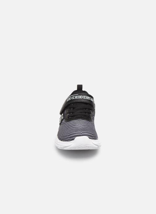 Baskets Skechers Eclipsor Noir vue portées chaussures