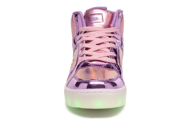 Sneakers Skechers Energy Lights Shiny Brights Silver bild av skorna på