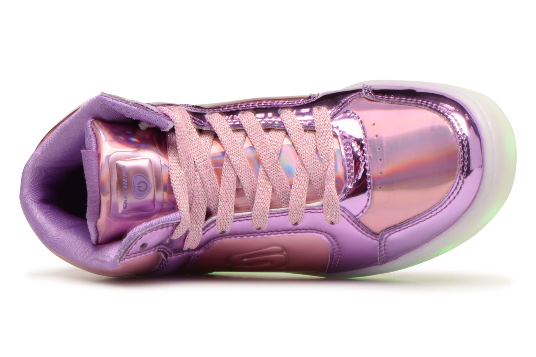 Sneakers Skechers Energy Lights Shiny Brights Silver bild från vänster sidan