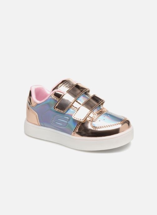 Skechers Energy Lights Lil' Metallic (silber) Sneaker bei