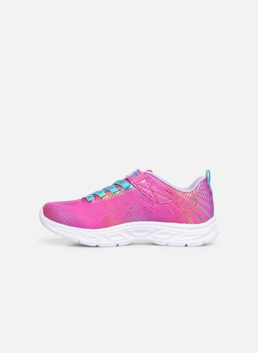 Sneaker Skechers Litebeams Gleam N'Dream rosa ansicht von vorne