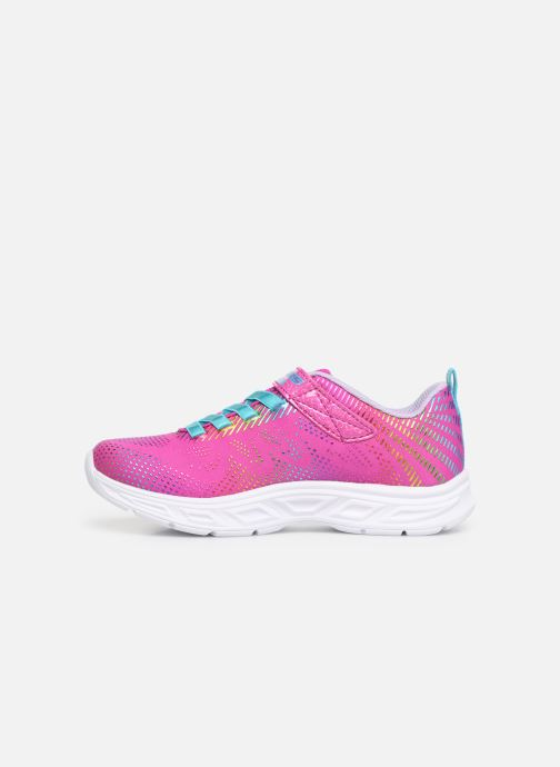 Trainers Skechers Litebeams Gleam N'Dream Pink front view