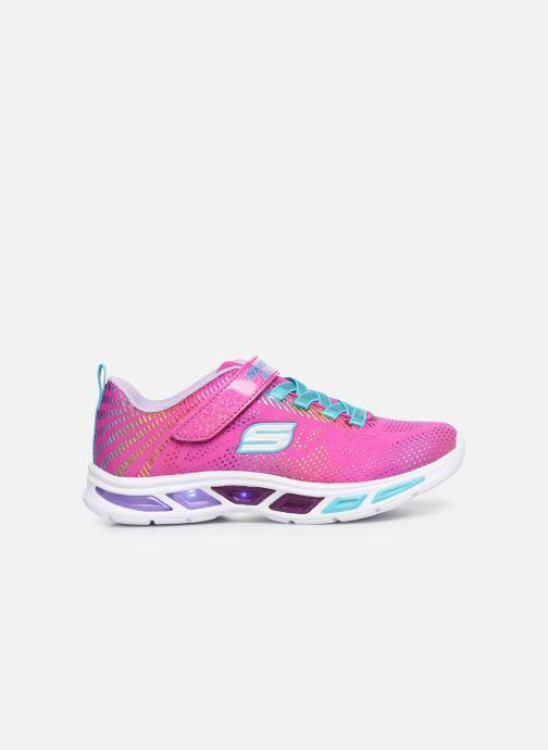 Sneaker Skechers Litebeams Gleam N'Dream rosa ansicht von hinten