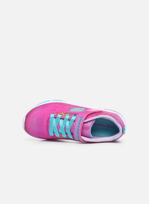 Trainers Skechers Litebeams Gleam N'Dream Pink view from the left