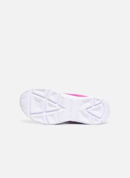 Sneaker Skechers Litebeams Gleam N'Dream rosa ansicht von oben