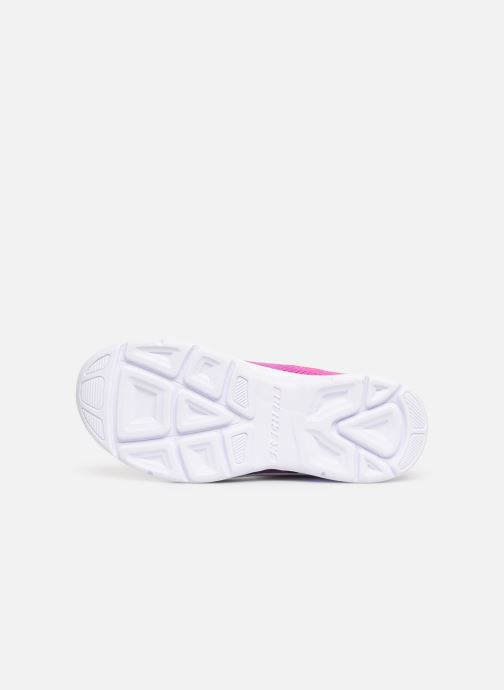 Trainers Skechers Litebeams Gleam N'Dream Pink view from above