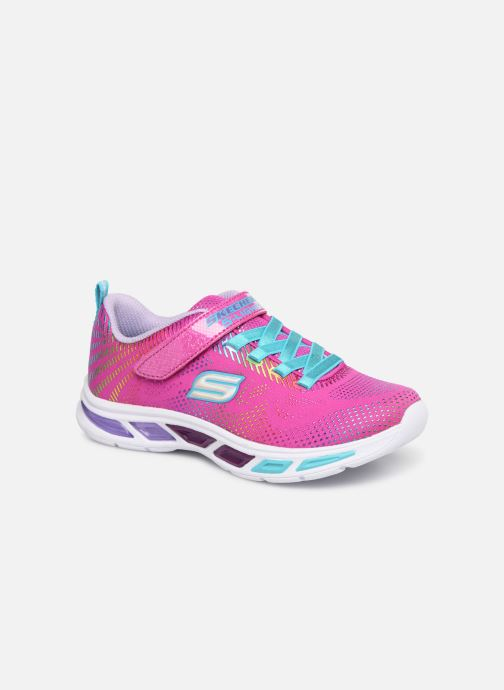 Trainers Skechers Litebeams Gleam N'Dream Pink detailed view/ Pair view