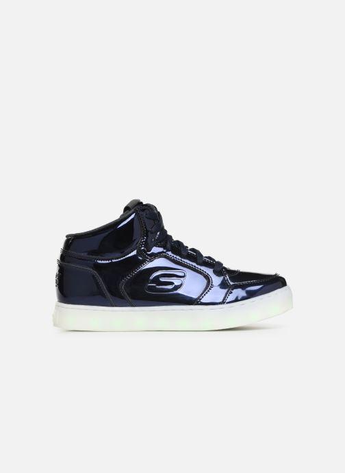 Baskets Skechers Energy Lights Eliptic Bleu vue derrière