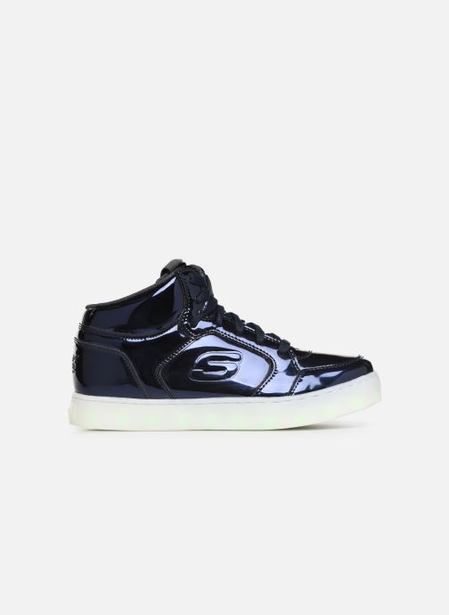 Trainers Skechers Energy Lights Eliptic Blue back view