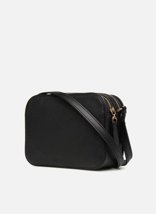 Handtassen Lauren Ralph Lauren Huntley Camera Bag Zwart rechts