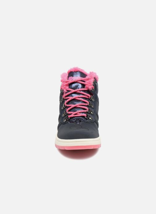 Bottines et boots Skechers Street Cleat 2.0 Trickstar Bleu vue portées chaussures