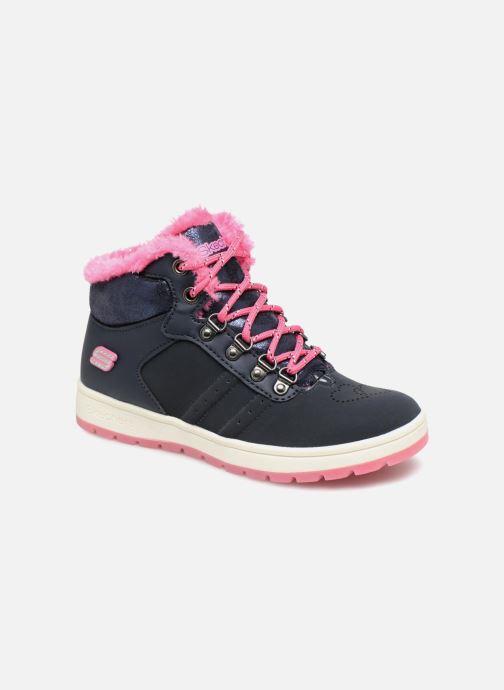 Bottines et boots Skechers Street Cleat 2.0 Trickstar Bleu vue détail/paire