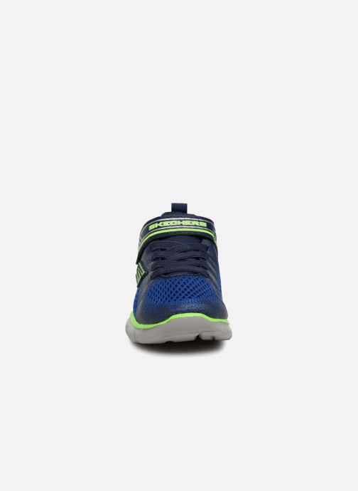 Sport shoes Skechers Flex Advantage 2.0 Geo Blast Blue model view