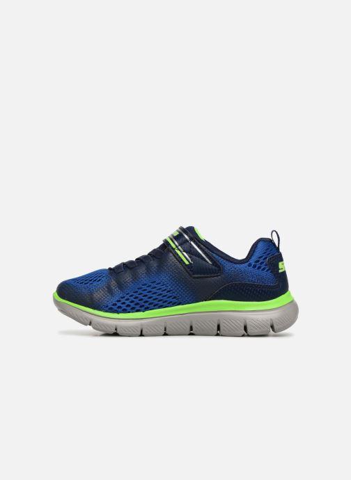 Sport shoes Skechers Flex Advantage 2.0 Geo Blast Blue front view