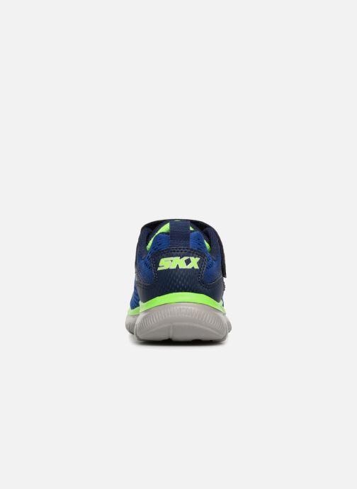 Sport shoes Skechers Flex Advantage 2.0 Geo Blast Blue view from the right