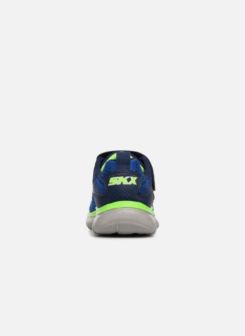 Sport shoes Skechers Flex Advantage 2.0 Geo Blast Blue view from the right