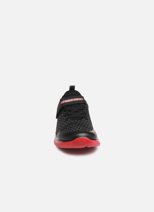 Chaussures de sport Skechers Flex Advantage 2.0 Geo Blast Noir vue portées chaussures
